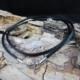 Antilopenlederband schwarz mit 925er Silberverschluss