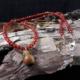 Malachitkette mit 925er Silberperlen