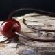 Perle in senfgelb mit Antilopenlederband
